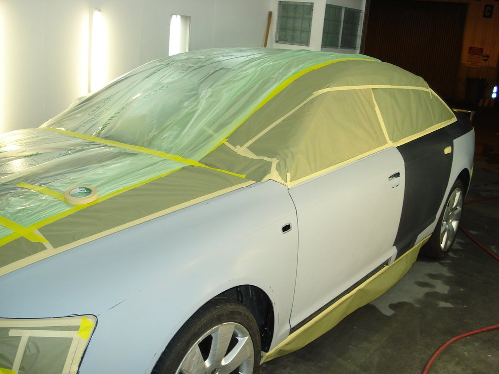 Auto body paint upland 909 949 2800 free towing for Car paint shop